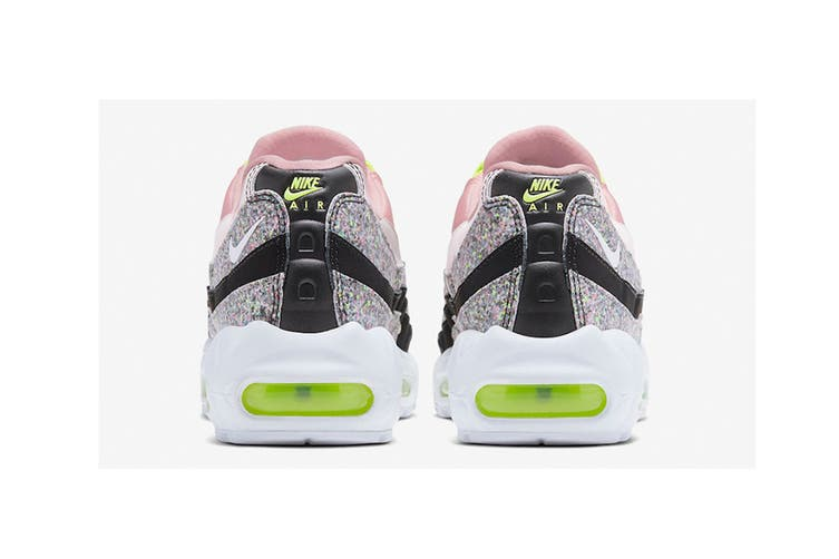 Nike Women's Air Max 95 SE Sneaker (Pink Glitter, Size 7.5 US)