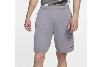 Nike Men's Monster Mesh 4.0 Short (Gunsmoke, Size S)