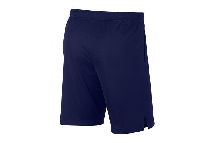 Nike Men's Monster Mesh 4.0 Short (Blue Void, Size XL)