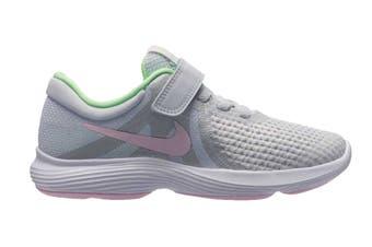 Nike Revolution 4 (PS) Girls' Pre-School Shoe (Platinum/Pink Foam)