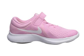 Nike Revolution 4 (PS US) Girls' Pre-School Shoe (Pink Rise/White, Size 12C US)