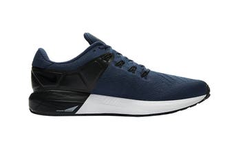 Nike Men's Air Zoom Structure 22 Shoes (Blue/Black/White, Size 8.5 US)