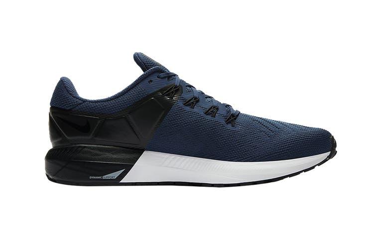 Nike Men's Air Zoom Structure 22 Shoes (Blue/Black/White, Size 9 US)