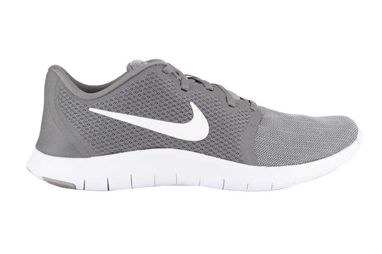 Nike Flex Contact 2 Men's Trainers (White/Grey, Size 8.5 US)