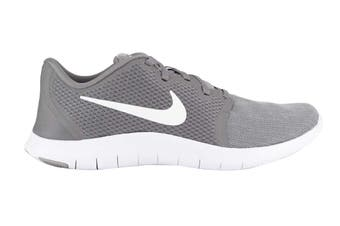 Nike Flex Contact 2 Men's Trainers (White/Grey, Size 9.5 US)