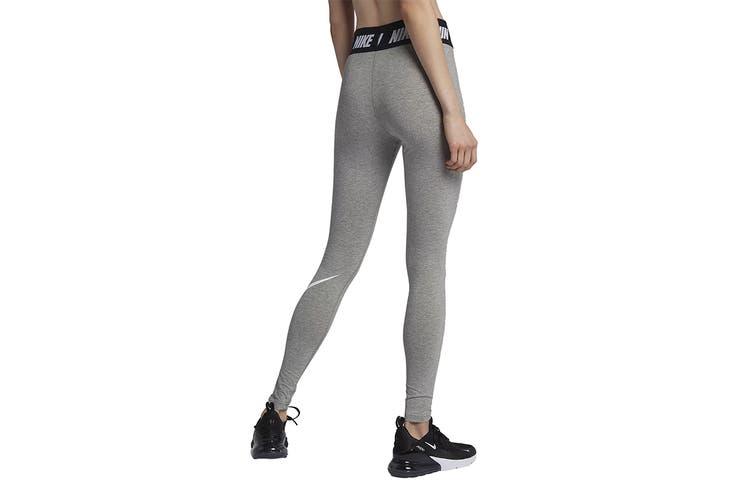 Nike Women's Sportswear Club Leggings (Grey, Size S)