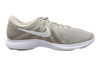 Nike Men's Revolution 4 Running Shoe (White/Stone)