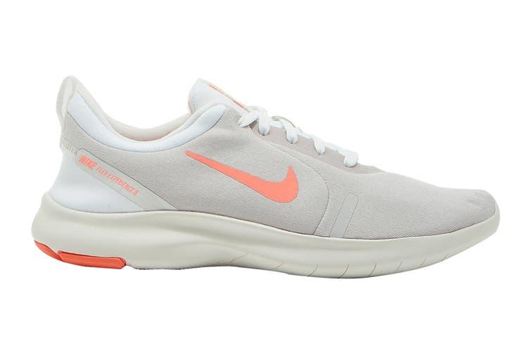 Nike Women's Flex Experience Run 8 Shoes (White/Lava Glow, Size 8 US)