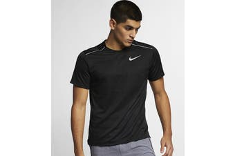 Nike Men's Dry Miler Short Sleeve Tee (Black)