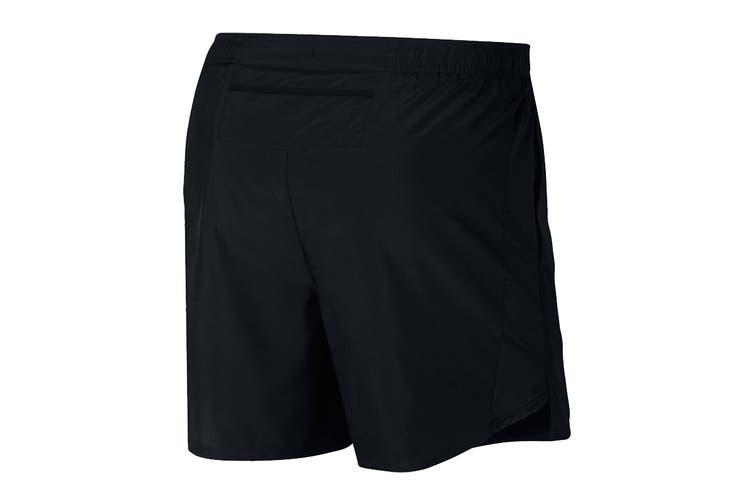 Nike Men's 5 Inch Challenger Short (Black, Size S)