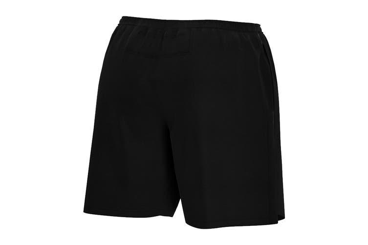 Nike Men's 7 Inch Challenger Short (Black, Size XL)