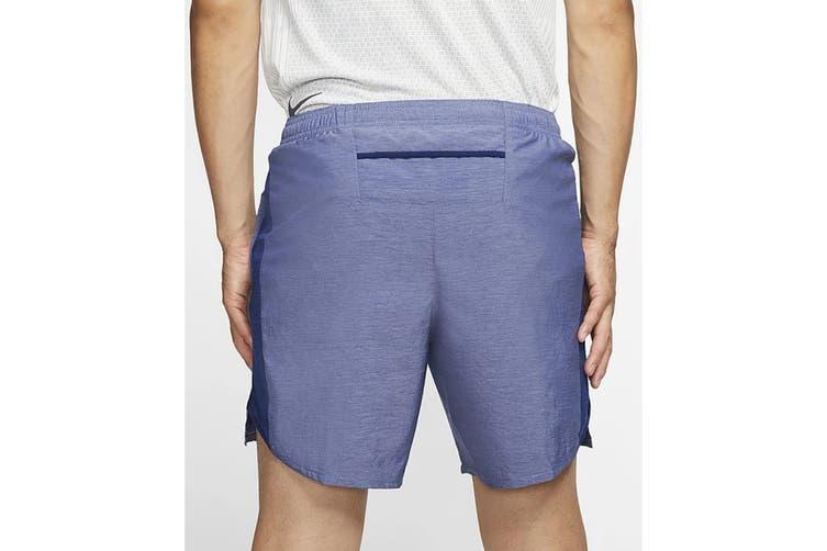 Nike Men's 7 Inch Challenger Short (Blue Void, Size M)