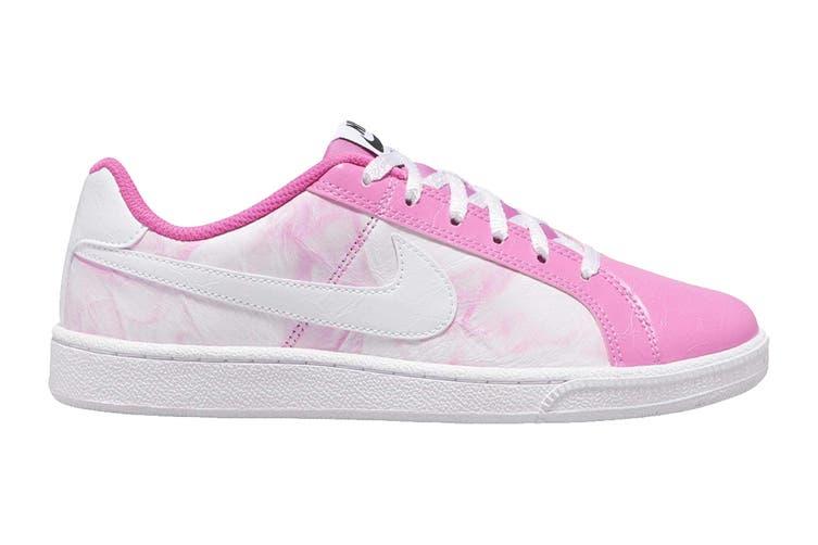 Nike Women's Nike Court Royale Premium Sneaker (China Rose/White, Size 9 US)