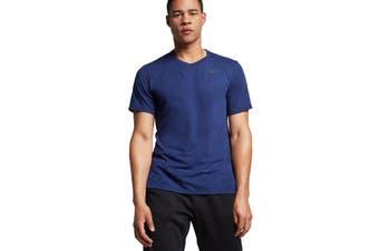 Nike Men's Dri-Fit Breathe Tees (Blue)
