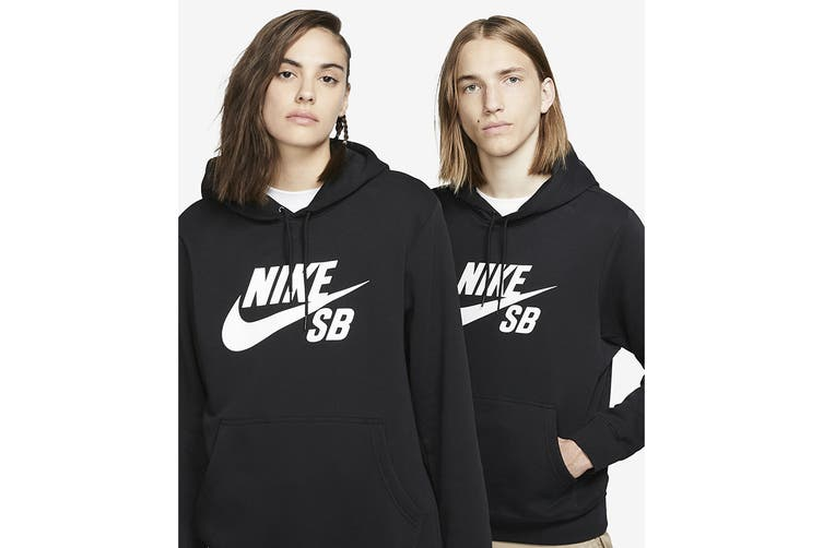 Nike Men's Icon Essential Hoodie (Black, Size S)
