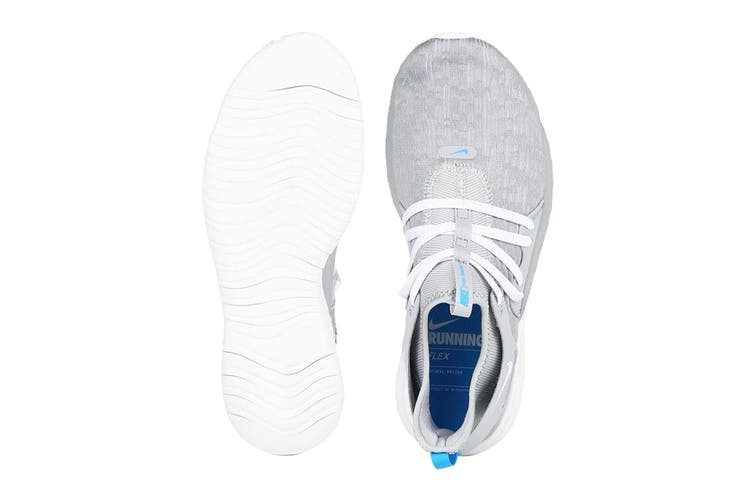 Nike Men's Flex Contact 3 Shoes (Grey/White, Size 8.5 US)