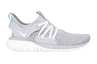 Nike Men's Flex Contact 3 Shoes (Grey/White, Size 9 US)