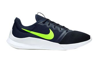 Nike Men's Viale Tech Racer Shoes (Black/White/Green)