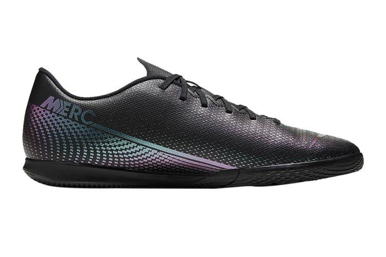 Nike Unisex Vapor 13 Club IC Football Shoe (Black/Black, Size 12 Men's US)