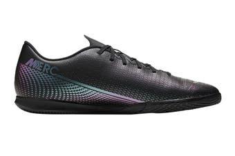 Nike Unisex Vapor 13 Club IC Football Shoe (Black/Black)