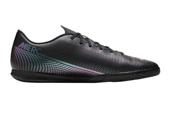 Nike Unisex Vapor 13 Club IC Football Shoe (Black/Black, Size 5 Men's US)