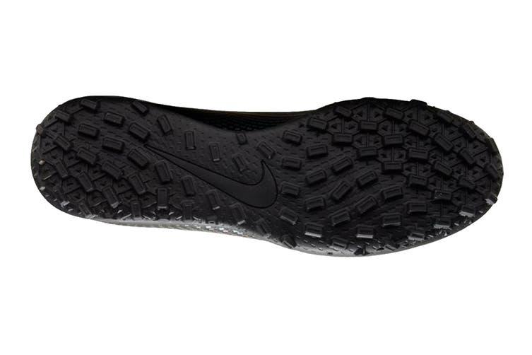 Nike Unisex Vapor 13 Club TF Football Shoe (Black/Black, Size 4 Men's US)