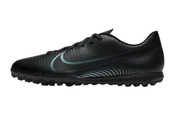 Nike Unisex Vapor 13 Club TF Football Shoe (Black/Black)