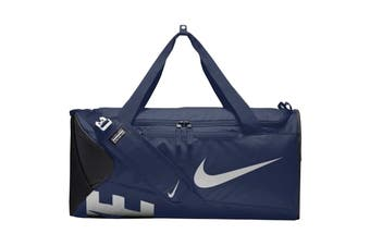 Nike Alpha Adapt Crossbody Medium Duffel Bag (Midnight Navy/Black/White)
