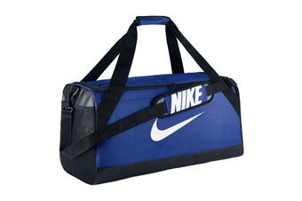 Nike Brasilia Training Duffel Bag (Blue, Size Medium)