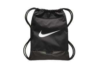 Nike Unisex BRSLA Gym Sack (Black/White)