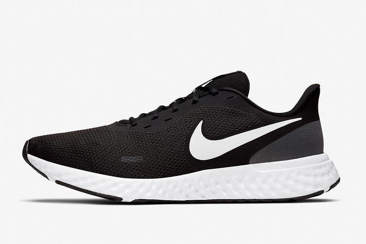 Nike Men's Revolution 5 Running Shoe (Black, Size 8.5 US)