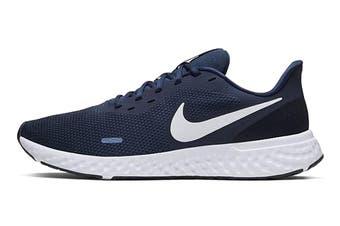 Nike Men's Revolution 5 Running Shoe (Blue, Size 9 US)