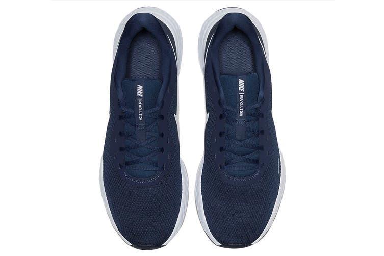 Nike Men's Revolution 5 Shoes (Navy Blue/White, Size 8.5 US)