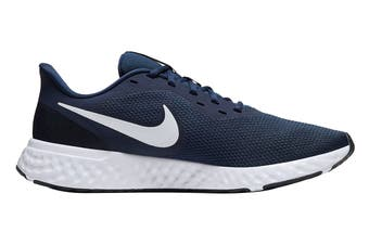 Nike Men's Revolution 5 Shoes (Navy Blue/White, Size 9.5 US)