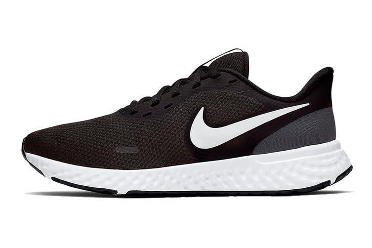 Nike Women's Revolution 5 Running Shoe (Black/White-Anthracite, Size 5 US)