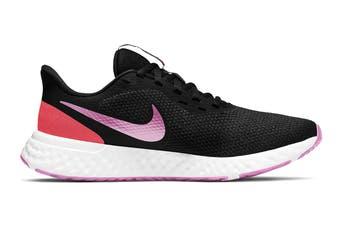 Nike Women's Revolution 5 Running Shoe (Black, Size 7 US)
