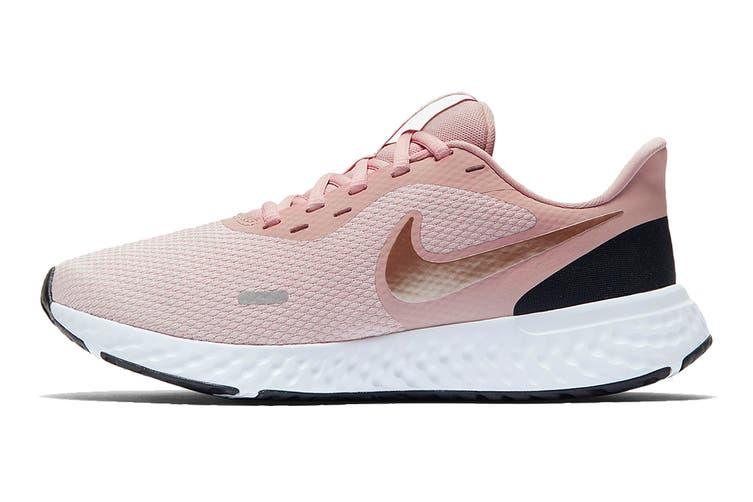 Nike Women's Revolution 5 Running Shoe (Pink, Size 6 US)