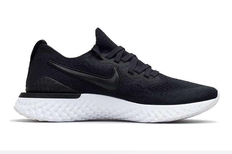 Nike Women's Epic React Flyknit 2 Running Shoe (Black, Size 6.5 US)