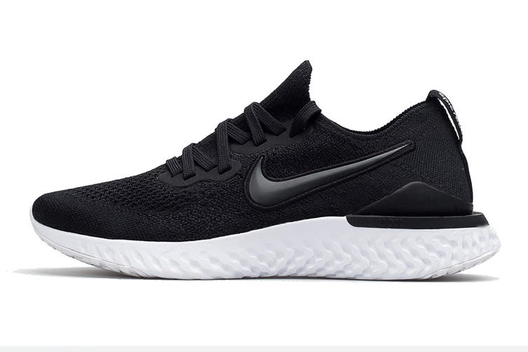 Nike Women's Epic React Flyknit 2 Running Shoe (Black, Size 7.5 US)