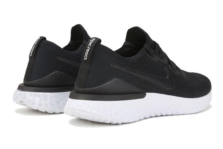 Nike Women's Epic React Flyknit 2 Running Shoe (Black, Size 7 US)