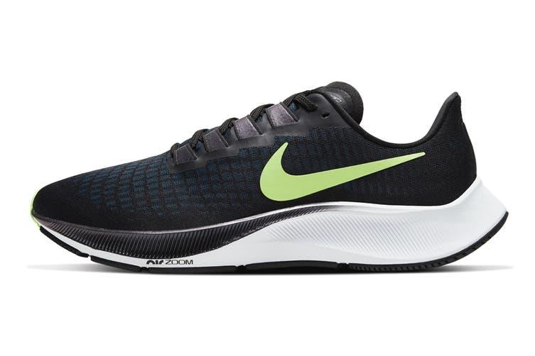 Nike Men's Air Zoom Pegasus 37 Running Shoe (Black, Size 7.5 US)