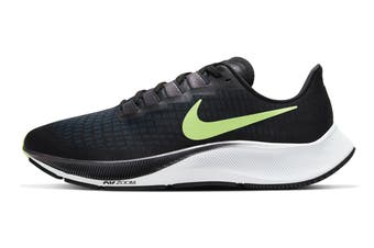 Nike Men's Air Zoom Pegasus 37 Running Shoe (Black/Ghost Green/Valerian Blue/Spruce Aura, Size 7 US)
