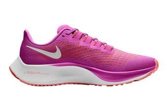 Nike Women's Air Zoom Pegasus 37 Running Shoe (Fire Pink/White/Team Orange/Magic Ember, Size 12 US)
