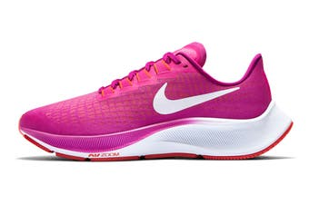 Nike Women's Air Zoom Pegasus 37 Running Shoe (Fire Pink/White/Team Orange/Magic Ember, Size 6 US)