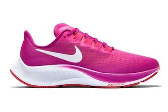 Nike Women's Air Zoom Pegasus 37 Running Shoe (Fire Pink/White/Team Orange/Magic Ember, Size 8 US)