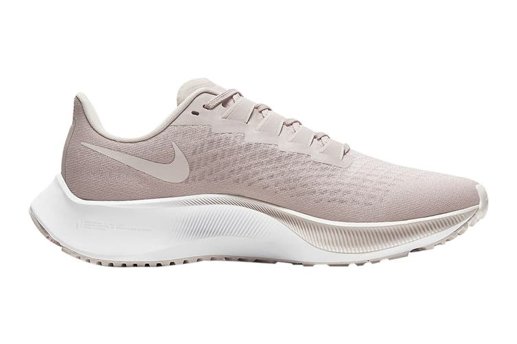 Nike Women's Air Zoom Pegasus 37 Running Shoe (Champagne/Barely Rose/White, Size 12 US)
