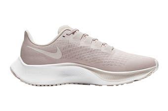 Nike Women's Air Zoom Pegasus 37 Running Shoe (Champagne/Barely Rose/White, Size 7 US)
