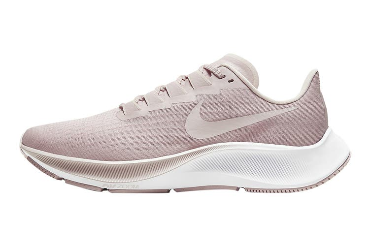 Nike Women's Air Zoom Pegasus 37 Running Shoe (Champagne/Barely Rose/White, Size 8 US)