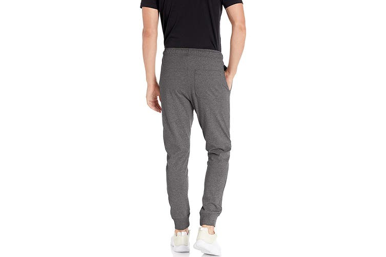 Nike Men's Club Jersey Jogger Pants (Charcoal Heather, Size M)