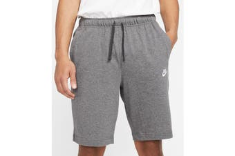 Nike Men's Club Jersey Short (Charcoal Heather)